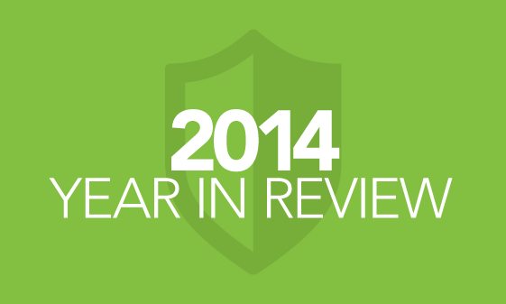 What cyber security lessons were learned in 2014?