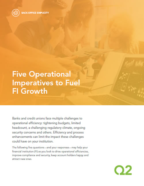 Banking Operatios Imperatives to Fuel FI Growth