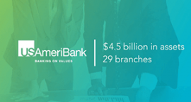 USAmeriBank—a scalable solution for large conversions