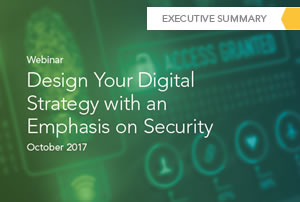 Design Your Digital Strategy with an Emphasis on Security