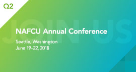 Q2 to Present at 2018 NAFCU Annual Conference Innovation Theater