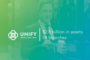 UNIFY Credit Union—higher engagement and member satisfaction