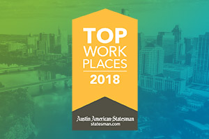 Q2 Holdings Named a Top Workplace in Austin for Eighth Consecutive Year, Earns No. 3 Ranking Among Large Employers