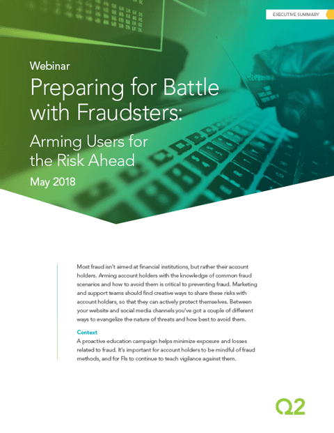 Minimize exposure and losses related to fraud