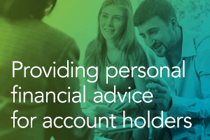 Providing Personal Financial Advice Strategies through Account Holder Tools